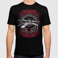 Rogue Leader MEDIUM Black Mens Fitted Tee