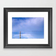 Free Mind Framed Art Print