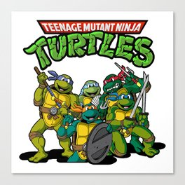 TMNT Ninja Turtles Canvas Print