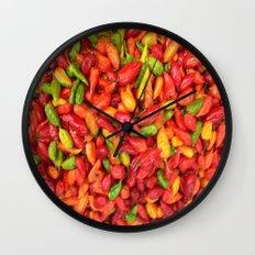 UN AJÍ  EN PALOQUEMAO - HAXÍ IN PALOQUEMAO Wall Clock