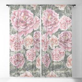 Summer Garden II Sheer Curtain