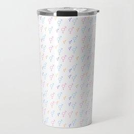 Symbol of Transgender 73 multicolor Travel Mug