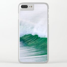 Barrel Wave Crashing Clear iPhone Case
