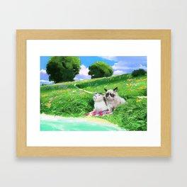 Good day? Framed Art Print