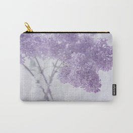 First Love - Pastel Purple Lilac Floral Decor Carry-All Pouch