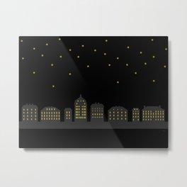Midnight Metal Print