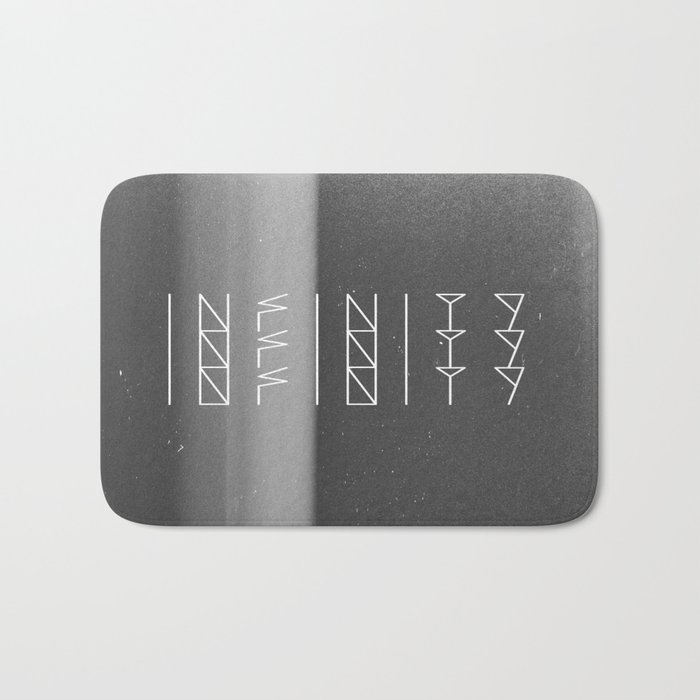 Infinity Forever  Bath Mat