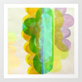 cloud 2 Art Print