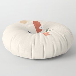 Hide and Seek Poodle Floor Pillow
