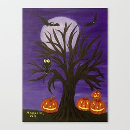 Halloween-2 Canvas Print