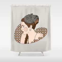 Leia - Rebel Princess  Shower Curtain