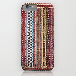 Qashqa'i Amaleh Fars Southwest Persian Rug iPhone Case