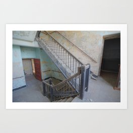 Cheap Suicide Stairs Art Print