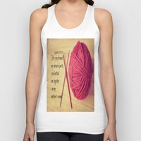 scripture Tank Tops featuring Psalm 139 Baby Scripture by KimberosePhotography