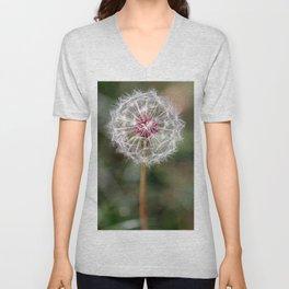 Dandelion Seed Head Unisex V-Neck