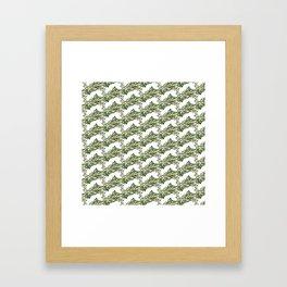Roses pattern 1 Framed Art Print