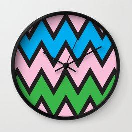 Geometric Calendar - Day 42 Wall Clock