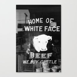 We Buy Cattle Canvas Print