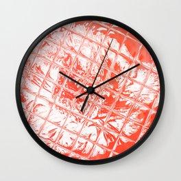Fire Garden Reflections Wall Clock
