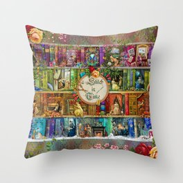 A Stitch In Time Throw Pillow