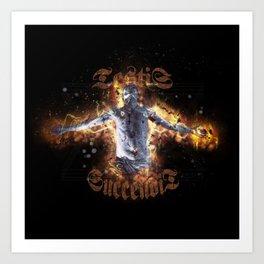 Burned Witness Art Print