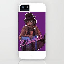 Cabaret iPhone Case