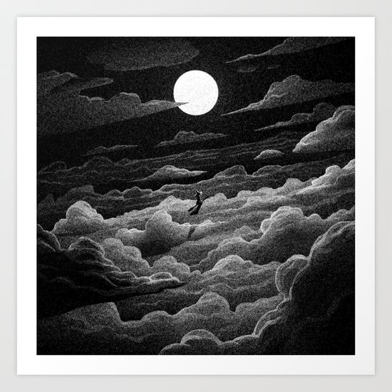 Drawlloween 2016: Witch Art Print