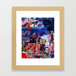 Graham Zusi - USMNT Framed Art Print