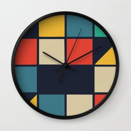 Color music box Wall Clock