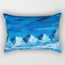 Mountain Glacier Rectangular Pillow