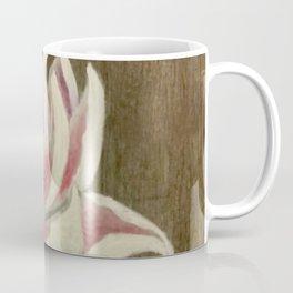White and Pink Lotus Coffee Mug
