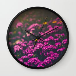 Springtime Melodies Wall Clock