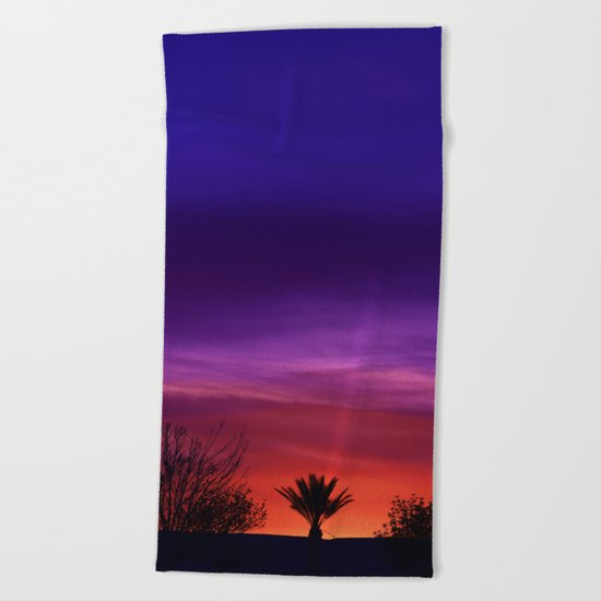 Desert SW Sunset Beach Towel