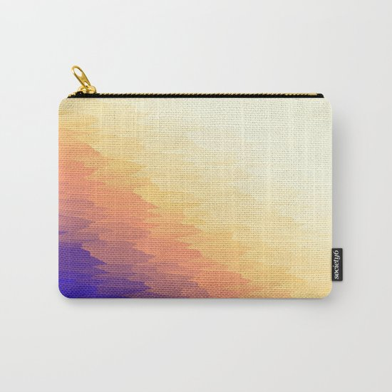 Bold Neutrals Texture Carry-All Pouch