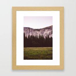 Yosemite Valley V Framed Art Print