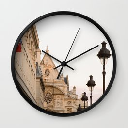 Latin Quarter Wall Clock