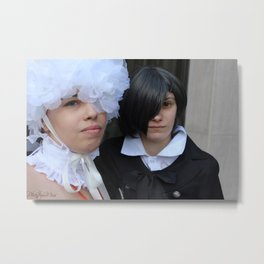 Doll and Ciel Metal Print