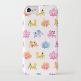 Orchid mantis iPhone Case