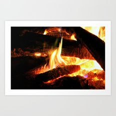 Why Should The Fire Die? Art Print