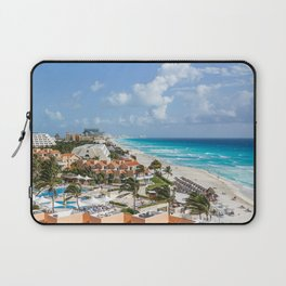 Cancun city on beachside Laptop Sleeve