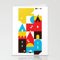 castle Stationery Cards featuring Castle by koivo
