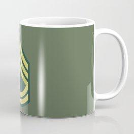 Sergeant First Class (OD Green) Coffee Mug