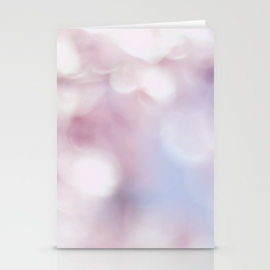Blossom bokeh Stationery Cards