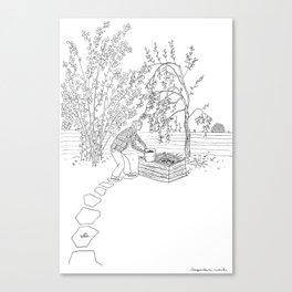 beegarden.works 001 Canvas Print
