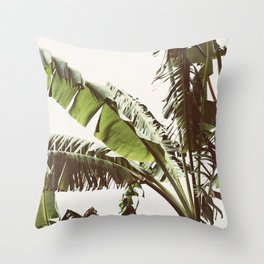 Tropical Winds Throw Pillow