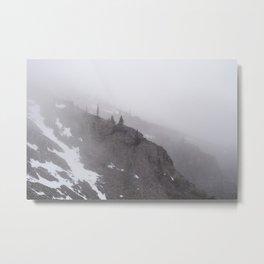 The Fog Metal Print