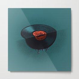 Hot Record Metal Print