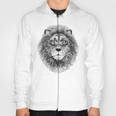 Black+White Lion Hoody