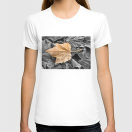 Frosty Leaves T-shirt