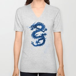 CHINESE DRAGON Unisex V-Neck